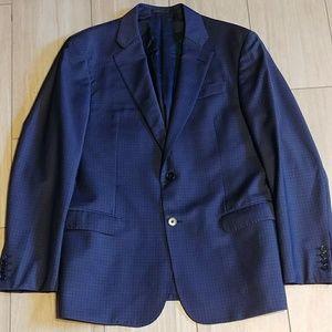 Armani Collezioni G Line Check 2 Button Blazer 40